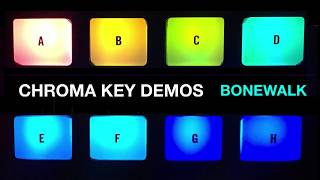 "Chroma Key: ""Bonewalk (demo)"""