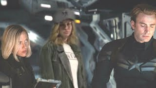 Avengers Endgame DIRECT CONNECTION With Captain Marvel POST CREDIT Scene