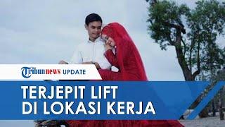 Calon Pengantin Terjepit Lift di Lokasi Kerja, Meninggal Dunia Menjelang Pernikahannya