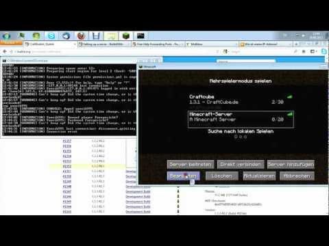 Download Öffentlichen Minecraft Bukkit Server Ohne Hamachi Erstellen - Minecraft server erstellen bukkit