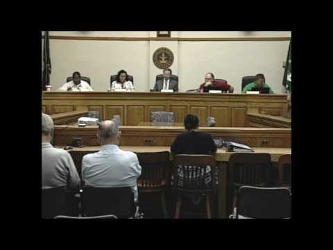 8/21/12 Board of Commissioners Work Session