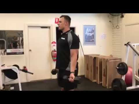 Excellent and unique arm exercise that does more than your traditional curl.