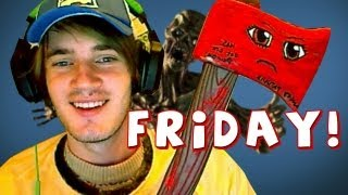 KILLING ZOMBIES! Mail Time! - (Fridays With PewDiePie - Part 49)