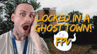 We got LOCKED inside a Ghost Town! // FPV Freestyle