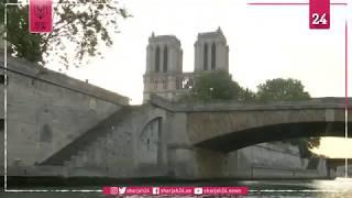التاكسي الطائر يحوم فوق نهر السين في تجربة للنقل المستقبلي بباريس