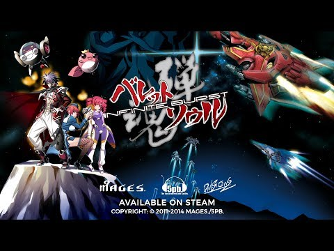 BULLET SOUL -Infinite Burst- for Windows PC (Steam®) Trailer thumbnail