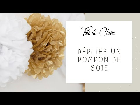 [Tuto] Comment monter un pompon en papier de soie - MyBBshowershop.com