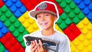 🏁LEGO BIRTHDAY PARTY!!! Build A LEGO Race Car Derby!🏆