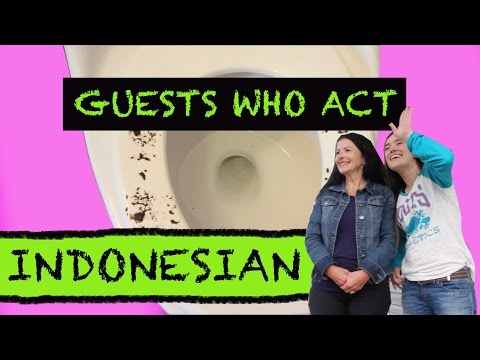 Indonesian Guests in your Western Home