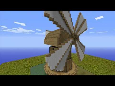 Dutch type windmill Minecraft Project