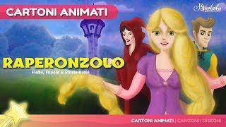 Raperonzolo storie per bambini | cartoni animati italiano | Storie della buonanotte