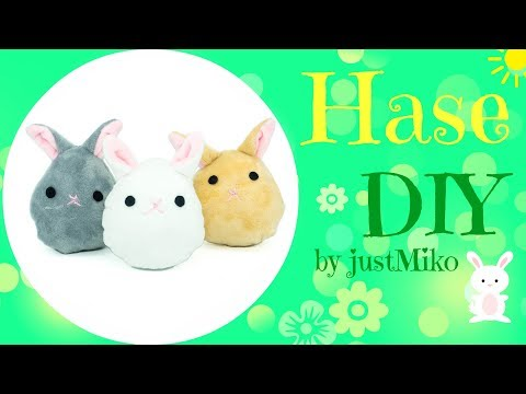 Plüsch Hase nähen 🐰 *Do it Yourself* | kawaii | #Ostern | Verlosung