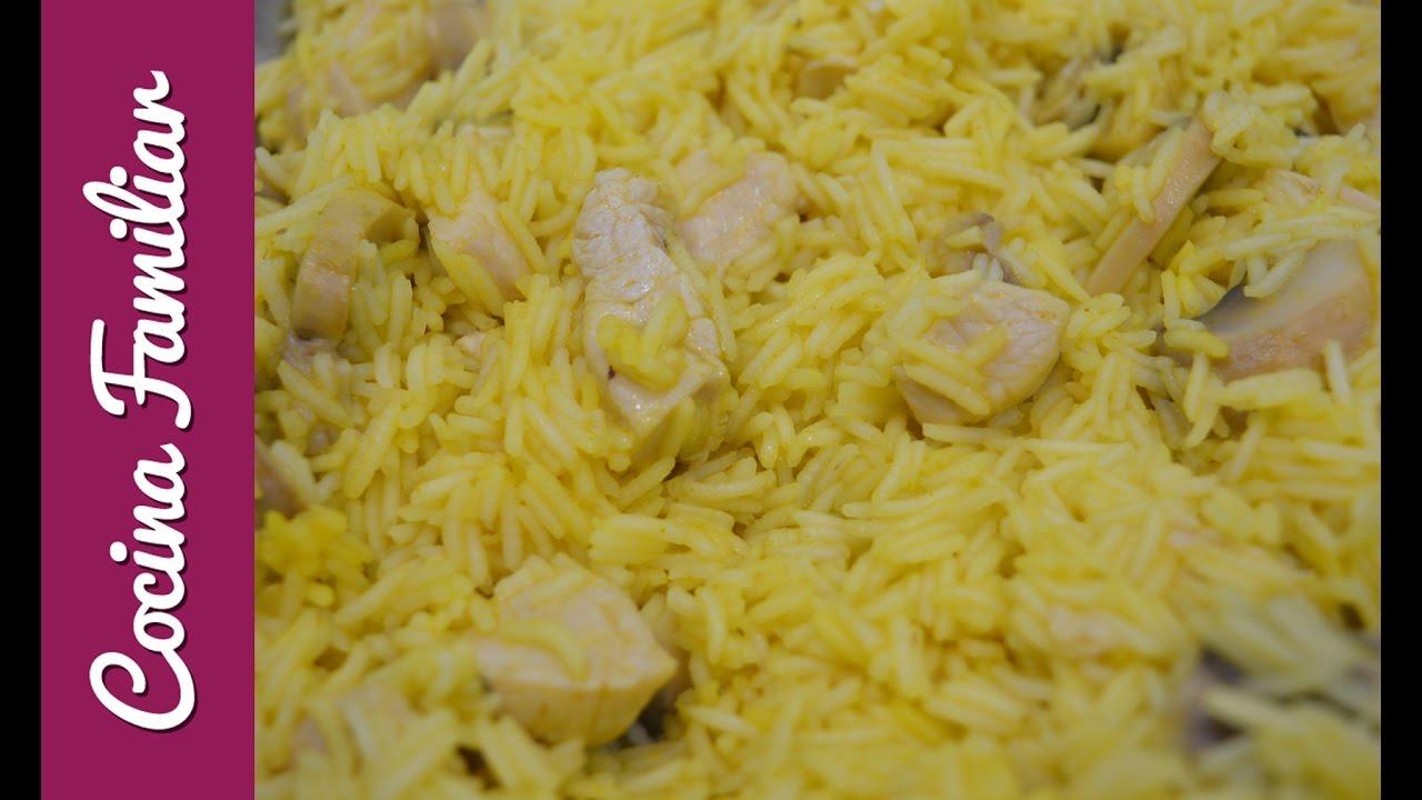 Arroz con pollo y champiñones para dieta | Javier Romero