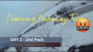FPV Freestyle - Trying to Learn the Fade away Rewind(Day 1 & Day 2)