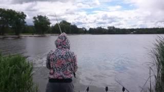 Рыбалка в деревне серединское