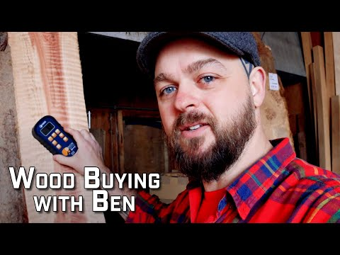 How to Choose and Buy Good Guitar Making Wood with Ben