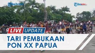 Mengintip Latihan Tari Kolosal PON XX Klaster Kota Jayapura, Libatkan 200 Anak Muda Papua