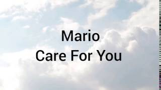 Mario  Care For You (lyrics)