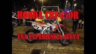 HONDA CRF450R  Supermotard Test Drive Motardmaniacs (prueba De Manejo) Supermoto