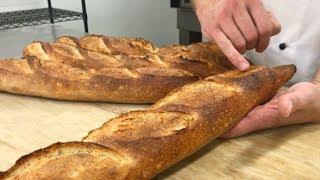 Shaping And Baking Artisan Baguettes
