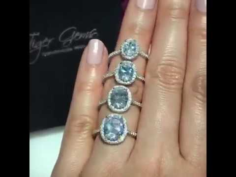 Comparison of the Oval Halo Engagement Rings