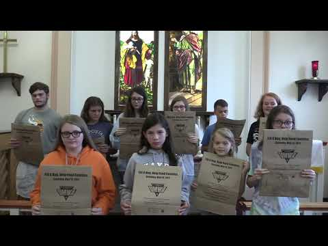 St. Andrew United Methodist Church, Youth Group Food Pantry Drive, September 2019, St. Albans, WV
