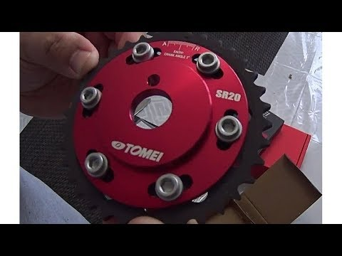 Engranes ajustables para árbol de levas Tomei unbox y análisis