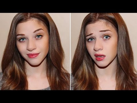 FULL FACE USING ONLY FOOD Challenge | The Real Cake Face Makeup Tutorial