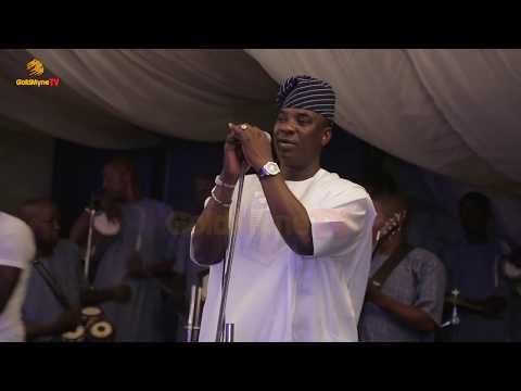 K1 DE ULTIMATE'S PERFORMANCE AT ALHAJA RAMOTALAI ALAKE EJIBADERO PARTY