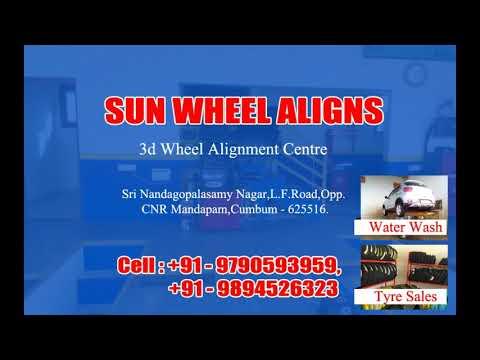 sun wheel aligns