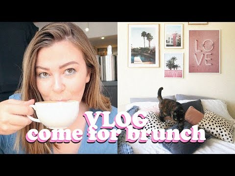 THE ONE WITH BRUNCH AND A BEDROOM MAKEOVER | LUCY WOOD