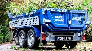 Kippmuldenanhänger KMA 350 Mieten | BEYER-Mietservice