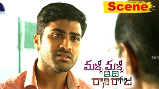 Nithya Menon And Sharwanand Superb Love Scene Ever - Malli Malli Idi Rani Roju Movie Scenes