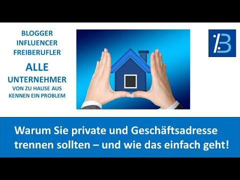 , title : 'So trennen Sie private und Geschäftsadresse am günstigsten!