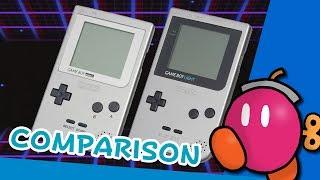 Game Boy Pocket & Light: A Comparison
