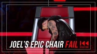 <b>Joel Madden</b>s Chair Fail  The Voice Australia 2014