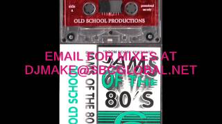 Jams of the 80's vol 6 - Tony Boom Boom Badea Old School Chicago Mix WBMX