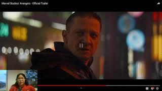 Marvel's Avengers 4: Endgame Official Trailer REACTION