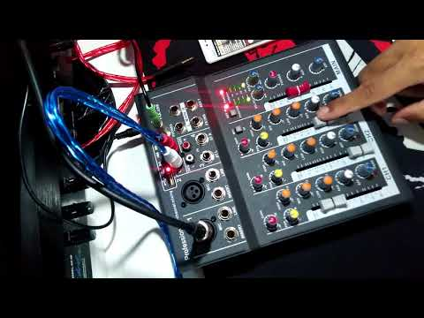 Mixer CYMIC F4A-USB   ราคาถูก   LAZADA   ( APPK STODIO )