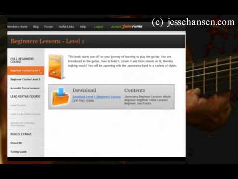 Guitar Lessons Online For Beginners