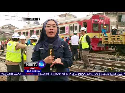 KRL Relasi Bogor Anjlok di Manggarai - NET10