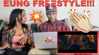 "Couple Reacts : ""EUNG FREESTYLE"" Reaction!!!"