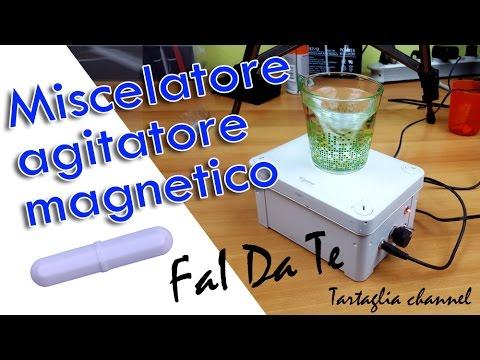 Realizzare miscelatore agitatore magnetico per liquidi svapo