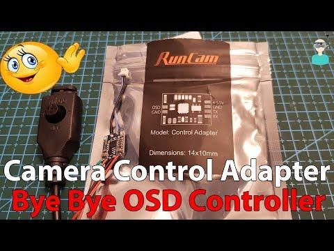 Runcam Camera Control Adapter - Setup & Overview
