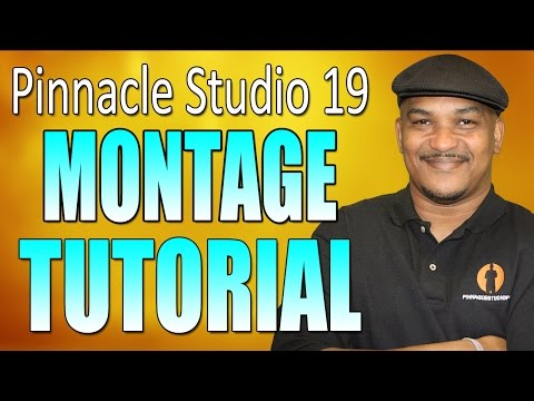 Pinnacle Studio 19 Ultimate – Slideshow / Montage Tutorial