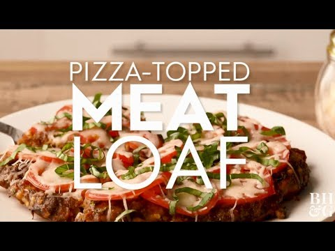 Pizza-Topped Meat Loaf | Cooking: How-To | Better Homes & Gardens