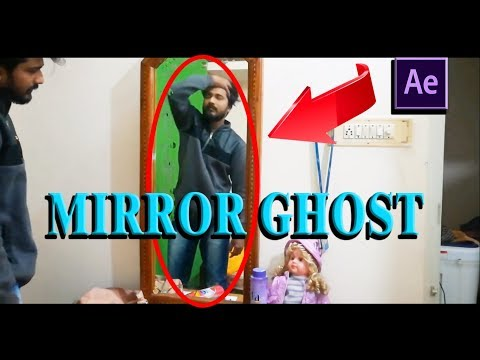 MIRROR GHOST EFFECT – AFTER EFFECTS TUTORIAL