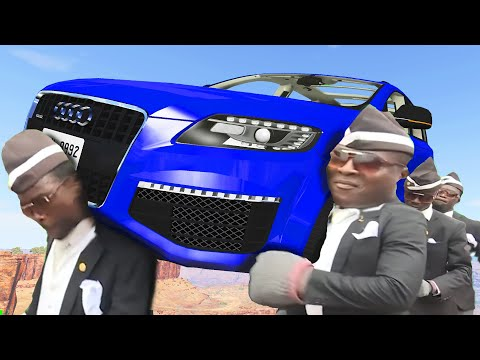 FUNERAL COFFIN DANCE MEME COVER #31 - Ghost Driver - BeamNG Drive