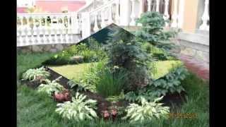 Прекрасный дизайн садового участка своими руками. Такой ландшафтный дизайн сада завораживает