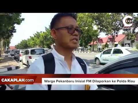 Diserang Hoax, Cagubri Syamsuar Lapor Polisi